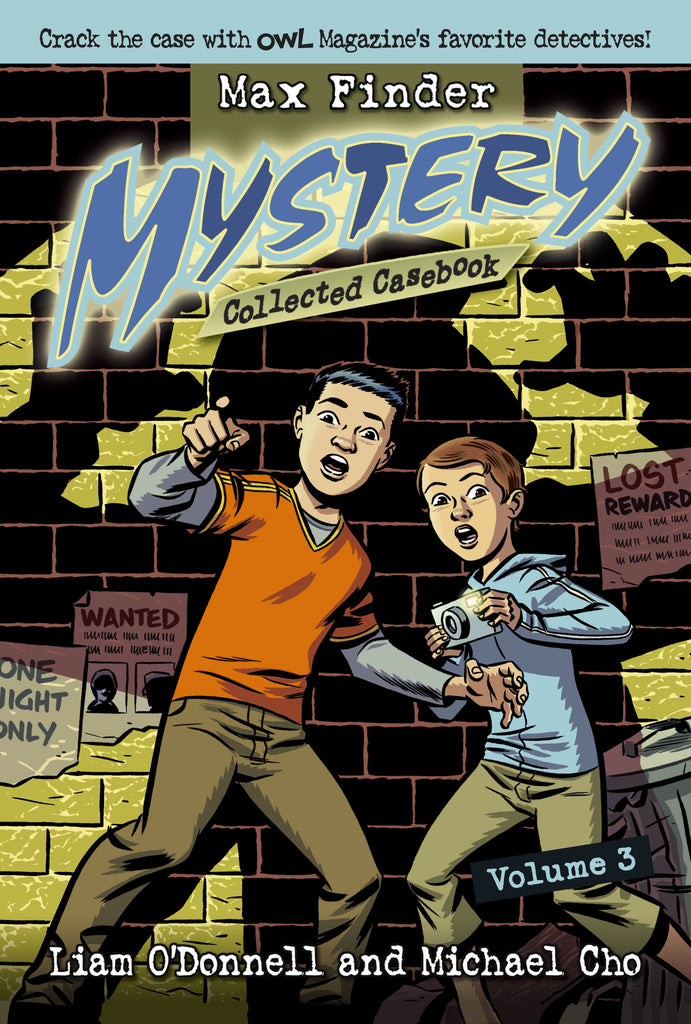 Max Finder Mystery Collected Casebook Volume 3 - owlkids-us