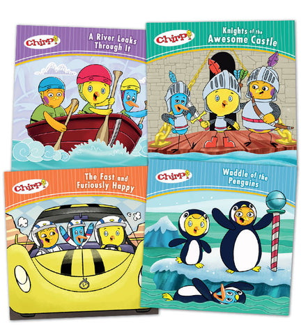 Chirp Adventure Book Bundle