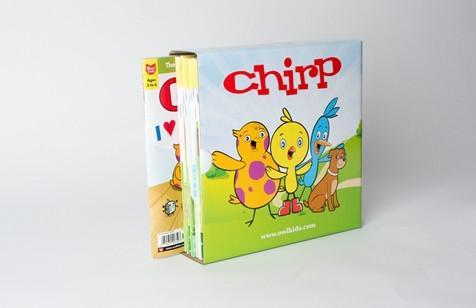 Chirp Magazine Holder // Chirp Colouring Fun Package