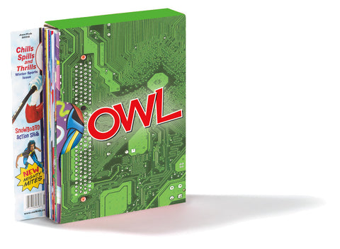 OWL Magazine Holder