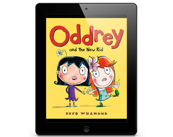 Oddrey and the New Kid - ebook