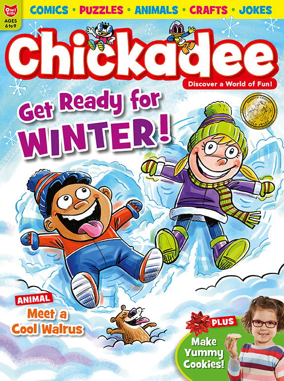 Chickadee Magazine - December 2018