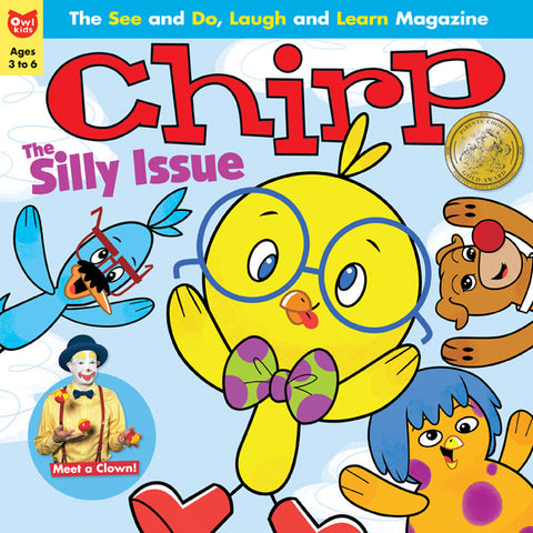 Chirp Magazine: ages 3-6 - owlkids-us - 6