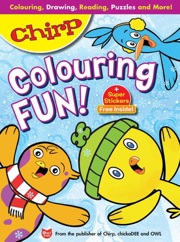 Chirp Colouring Fun // Chirp Winter Bundle