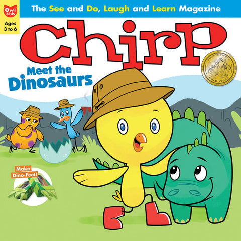 Chirp Magazine: ages 3-6 - owlkids-us - 4
