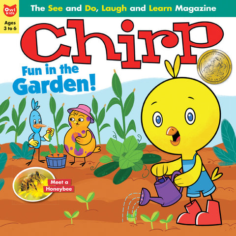Chirp Magazine: ages 3-6 - owlkids-us - 8