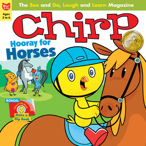 Chirp Magazine: ages 3-6 - owlkids-us - 7