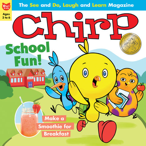 Chirp Magazine: ages 3-6 - owlkids-us - 2