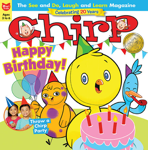Chirp Magazine - Summer 2017