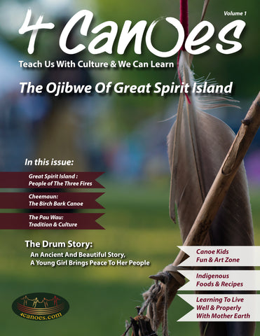 The Ojibwe of Great Spirit Island; Canoe Kids Volume 1