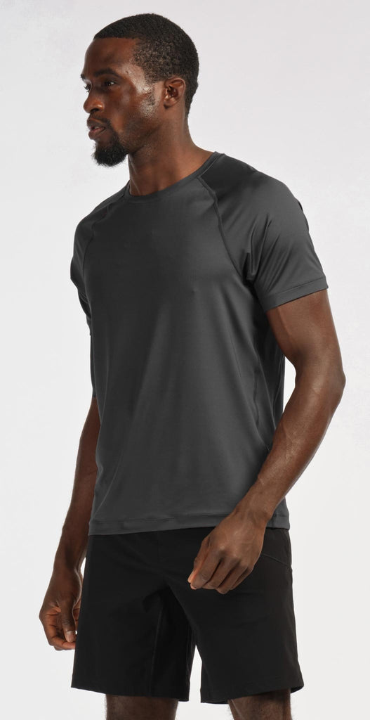 Rhone Fuse Tech Tee Shadow Gray