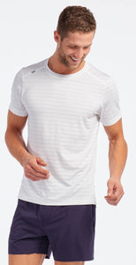 Rhone Swift Short Sleeve White