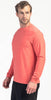 Rhone Reign Long Sleeve Barbados Cherry Heather