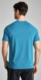 Fourlaps Short Sleeve Level Tee Teal Heather