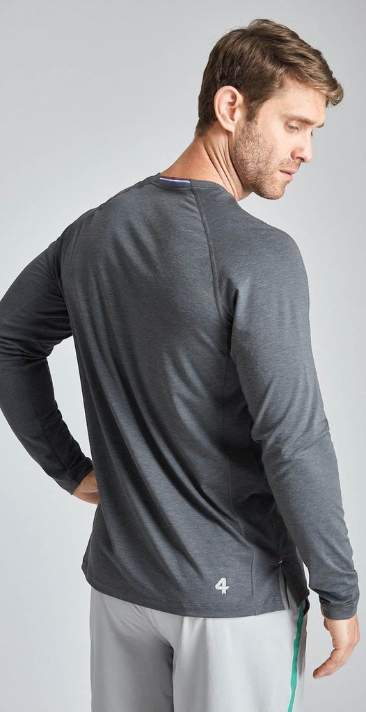 Fourlaps Long Sleeve Level Tee Grey