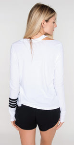 N Philanthropy Spruce Long Sleeve White