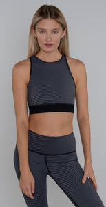 Vimmia X Energy Wave Bra Top black charcoal