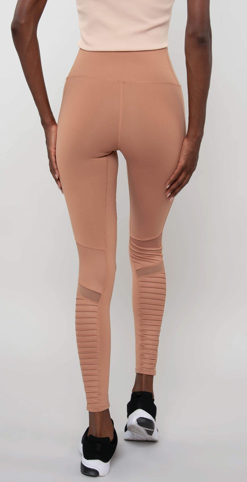 Alo Yoga High-Waist Moto Legging Henna