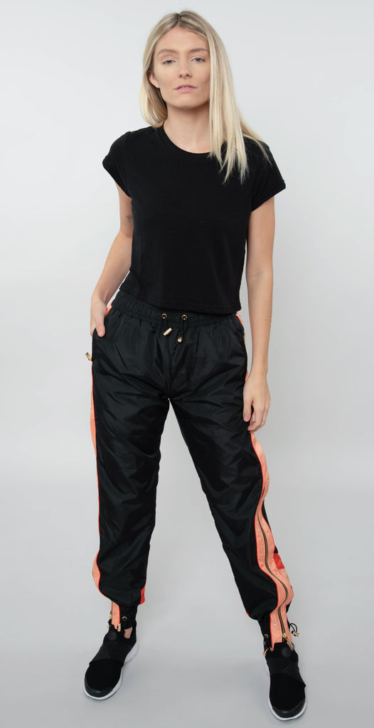PE Nation Cutshot Pant Black