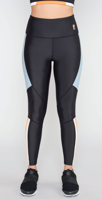 P.E Nation Alpine Legging Black Multi