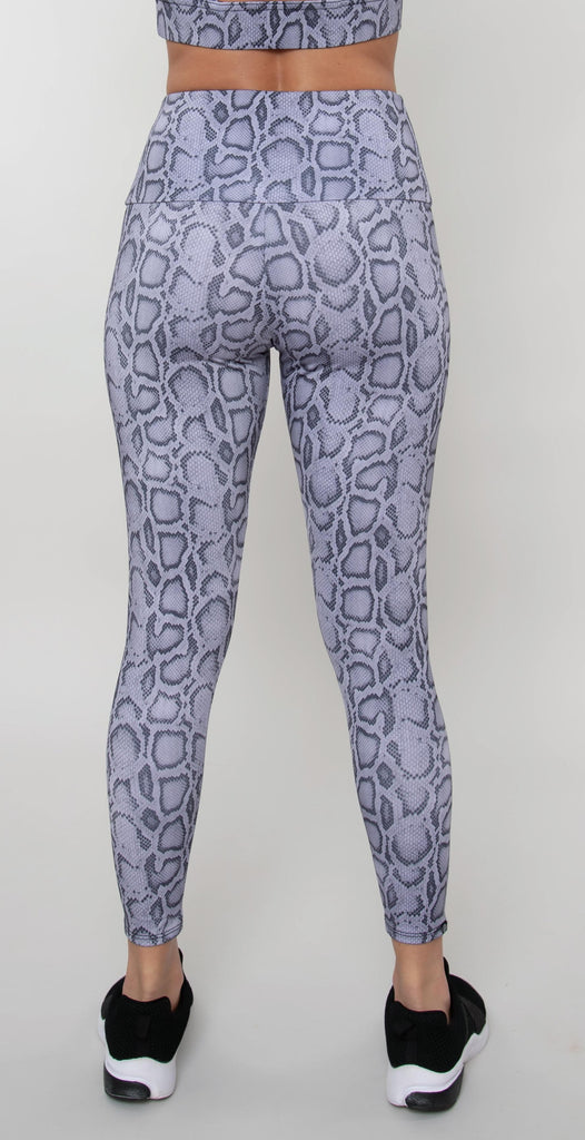 Onzie High Basic Midi Legging Lavender Cobra