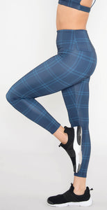 Onzie High Basic Midi Legging Midnight Plaid