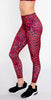 Onzie High Basic Midi Legging Red Leopard