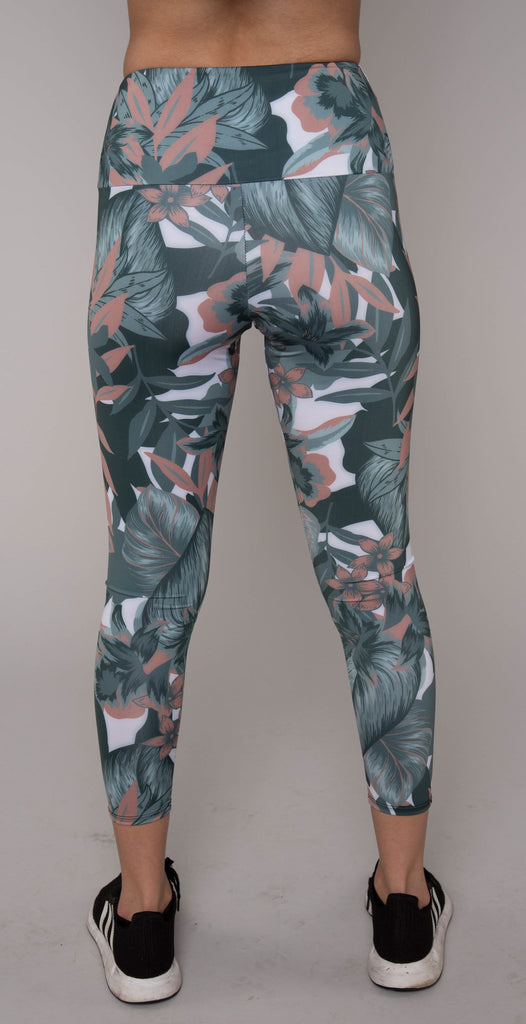 Onzie High Basic Midi Legging Tropical Camo