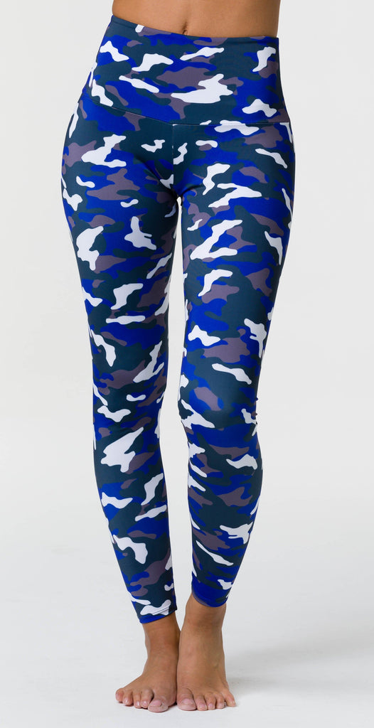 Onzie High Rise Legging Midnight Camo