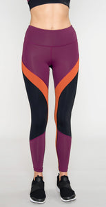 Vimmia Tri Color Legging Currant