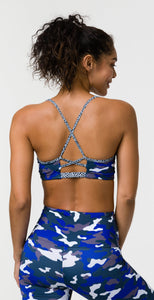 Onzie Bridge Bra Midnight Camo