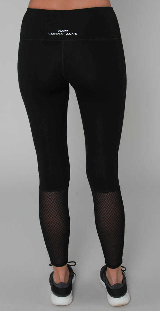 Lorna Jane Pixie Core F/L Tight Black