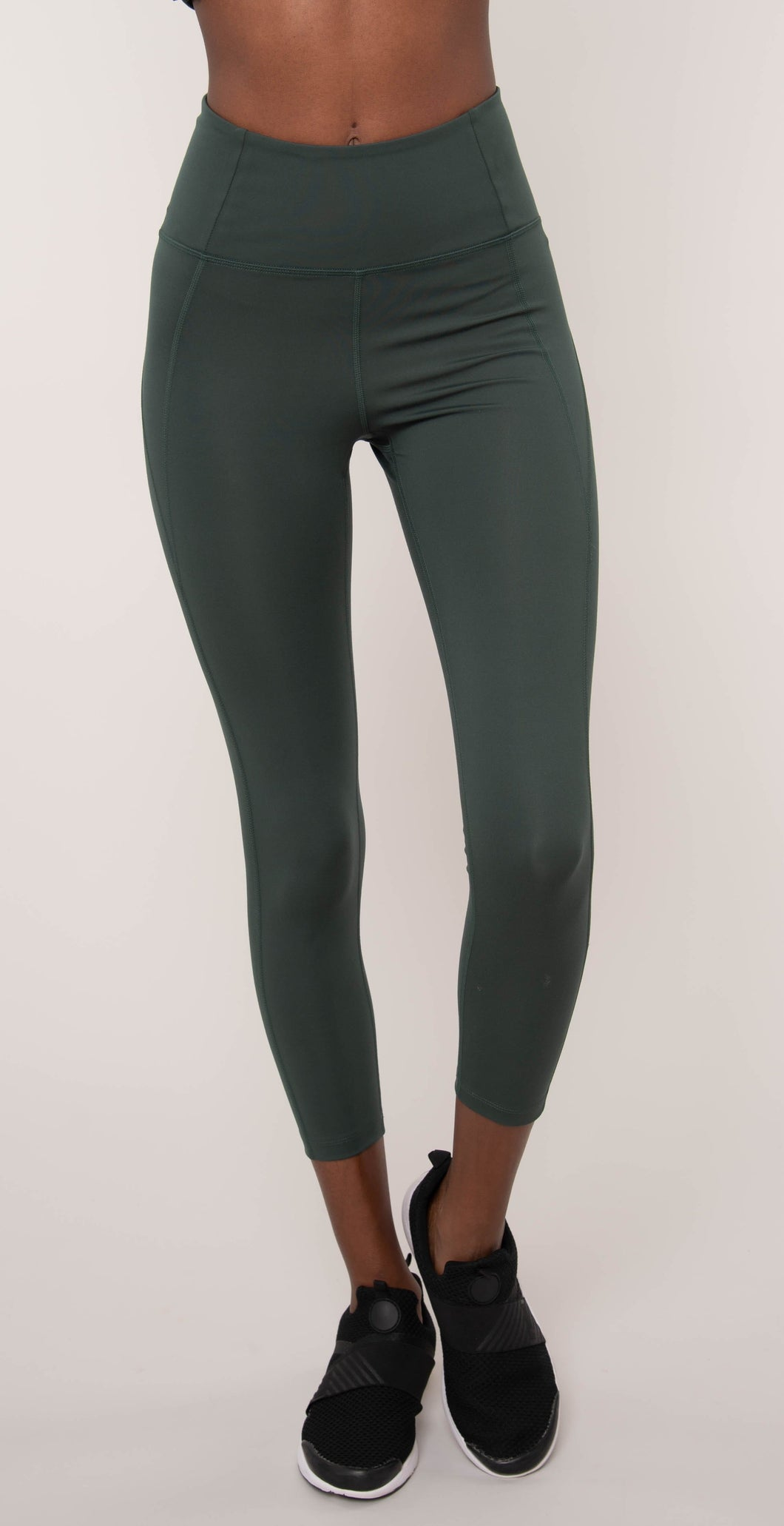 Girlfriend Collective High Rise Compressive Legging Moss