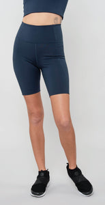 Girlfriend Collective High Rise Bike Short Midnight
