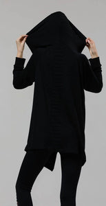 Onzie 627 Wrap Jacket Black