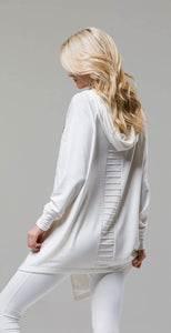 Onzie 627 Wrap Jacket White
