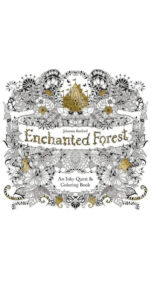 - Enchanted Forest Coloring Book – Fitness Hub Shop