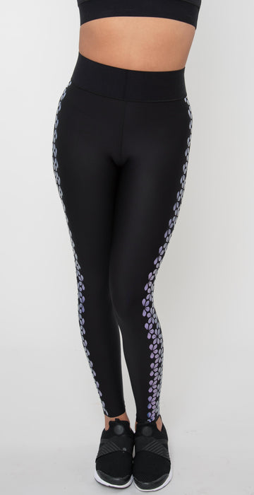 Ultracor Supreme Bloom Ultra High Legging Nero / Holograph Nero