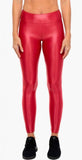 Koral Lustrous High Rise Legging Crimson