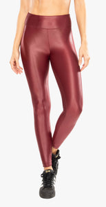 Koral Lustrous High Rise Legging Ruby
