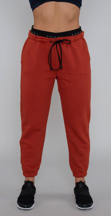 Koral Karma Mantra Sweatpant Rouge Red