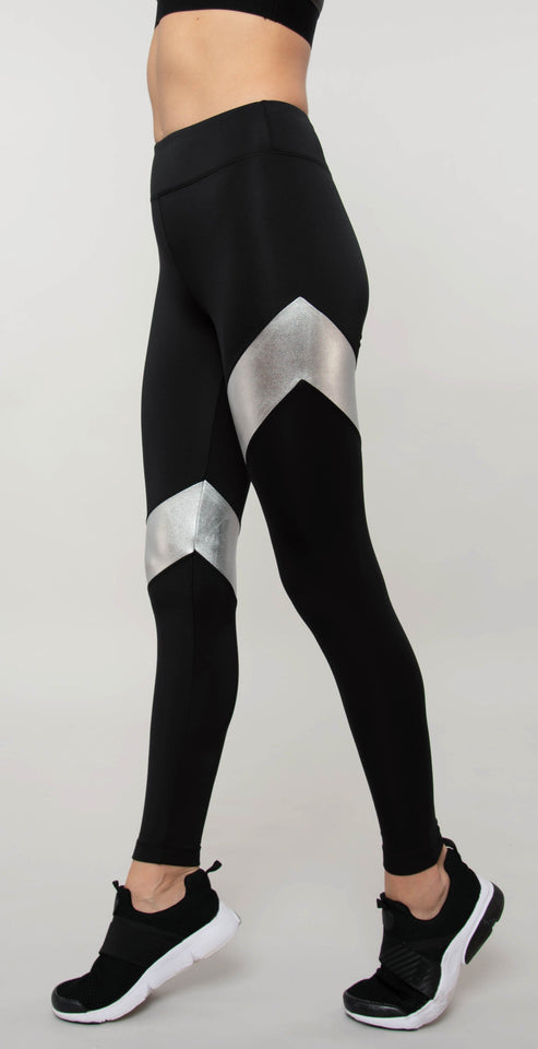 Koral Aello Scuba High Rise Legging Black Platinum