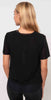 Koral Double Layer Tee Black