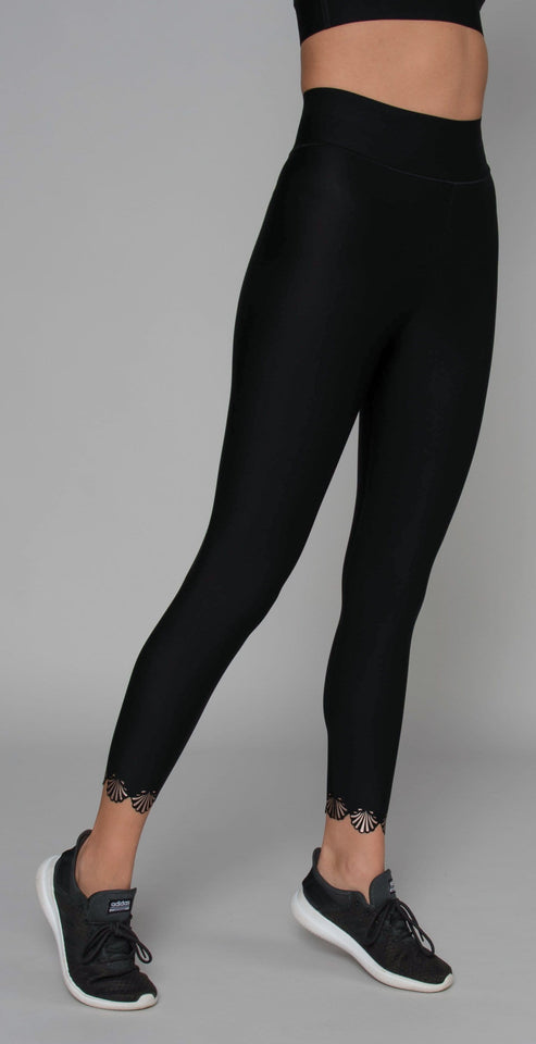 Ultracor Sprinter High Siren Legging Nero Brushed Rose