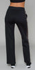Ultracor Element Twill Stripe Swarovski Pant Nero Brushed Rose Rosaline