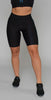 Ultracor Aero Twill Stripe Swarovski Short Nero Blue Metallic Light