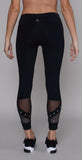 Nancy Rose Performance Roxy 7/8th Pant Black