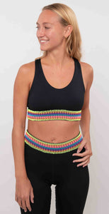 Peixoto Lyla Sports Bra Black