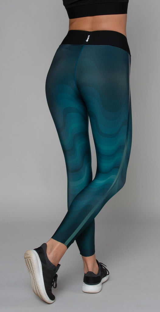 Ultracor Sprinter High Swell Legging Teal Peacock