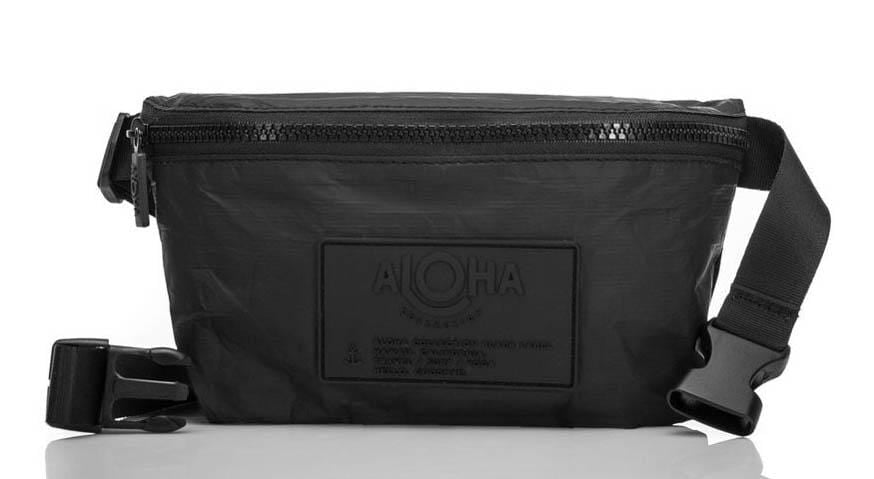 Aloha Hip Pack Black